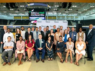 A celebration of SECU MD Foundation scholarship winners.