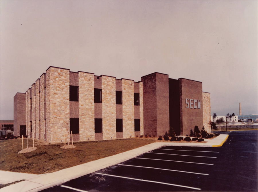 Historic photo of Towson building
